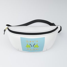 ASL Let's PLAY! Fanny Pack