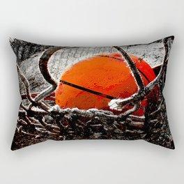 Basketball artwork variant 6 Rectangular Pillow