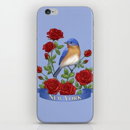 New York State Bird and Flower iPhone Skin