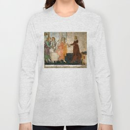 "Sandro Botticelli ""Venus and the Three Graces Presenting Gifts to a Young Woman"" Long Sleeve T-shirt"