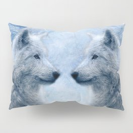 two wolves Pillow Sham