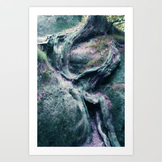 percorsi Art Print