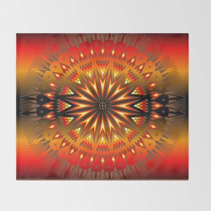Fire Spirit Throw Blanket