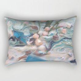 Just Beaching Rectangular Pillow
