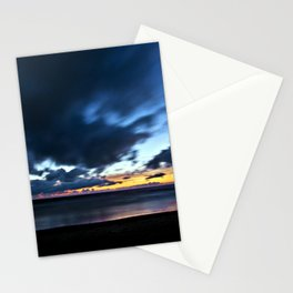 Nocturnal Cloud Spectacle on Danish Sky Stationery Cards
