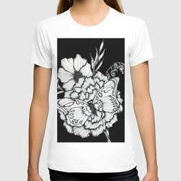 Black Flutter T-shirt