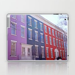 Colourful Streets Greenwich Village, NYC Laptop & iPad Skin