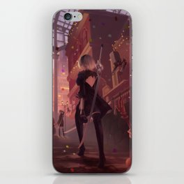 NieR: Automata - Welcome to the Amusement Park iPhone Skin