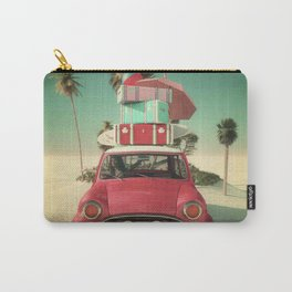 travel car in the beach Carry-All Pouch