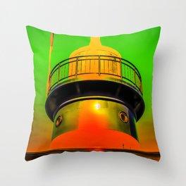 Lighthouse romance 100 Throw Pillow