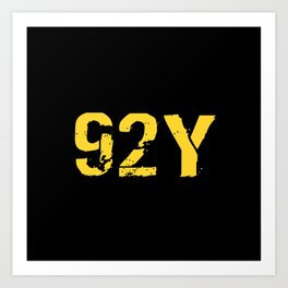 92Y Unit Supply Specialist Art Print