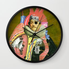 Another Portrait Disaster · van Dyck Wall Clock