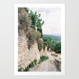 Gordes, Luberon - Alleys Art Print