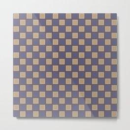 Night checkers Metal Print