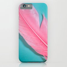 PINK FEATHER 2 iPhone 6s Slim Case