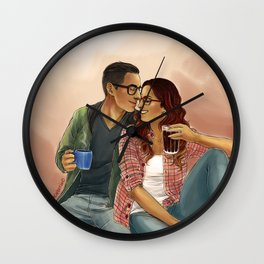 You're my favorite song Wall Clock