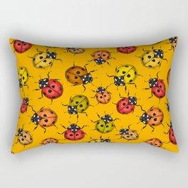 Colorful ladybugs Rectangular Pillow