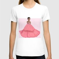 rihanna T-shirts featuring Rihanna by Lunnorart