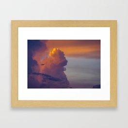 Glowing Escape Framed Art Print