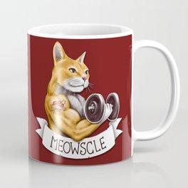 Meowscle Coffee Mug