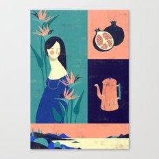 Sarashiva I Canvas Print