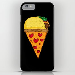 Taco Pizza Cone iPhone Case