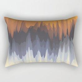 Abstract Art. Sun Light Rectangular Pillow