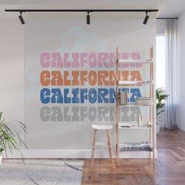 vintage california Wall Mural