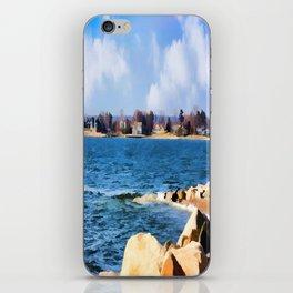 New England Shoreline - Painterly iPhone Skin