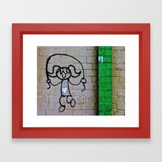 Jump Rope Street Art Framed Art Print
