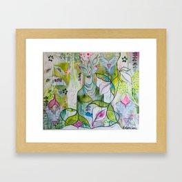 """""""Stillness"""" Framed Art Print"""