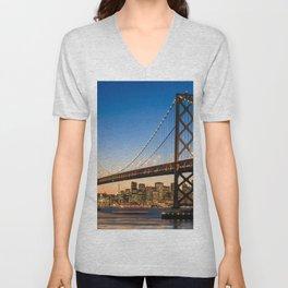 San Francisco 02 - USA Unisex V-Neck
