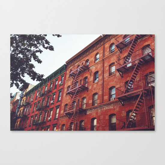 Little Italy Canvas Print