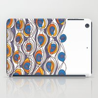 peacock iPad Cases featuring peacock by colli1.3designs