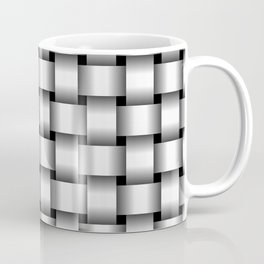 White Weave Coffee Mug