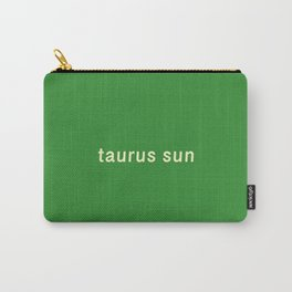 Taurus Sun Carry-All Pouch