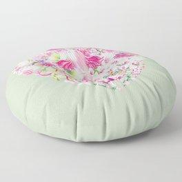 Blush Heart Floor Pillow