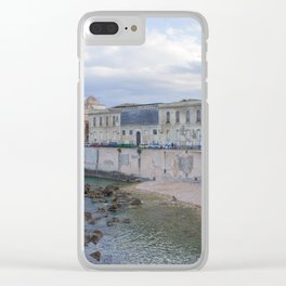 Syracuse Waterfront Clear iPhone Case