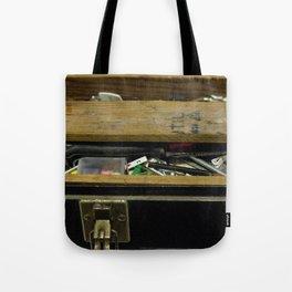Tool Box Tote Bag