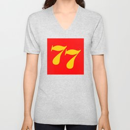 DgM CHRIS AMON Can Am 77 Unisex V-Neck