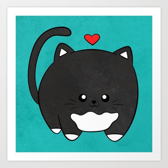 Fat Cat by littlecreations