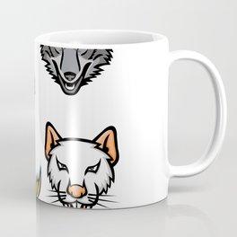 Wildlife Head Mascot Collection Coffee Mug