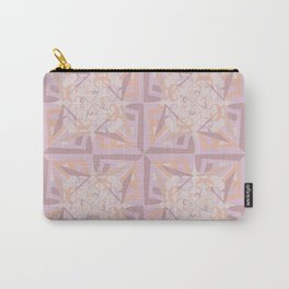 Peace is Soft Tiled Carry-All Pouch