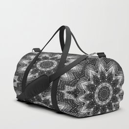 Black and white relaxation Duffle Bag