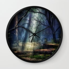Fantasy Forest 2 Wall Clock