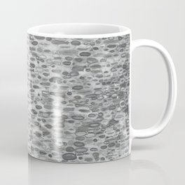 Gray Lake Raindrops Coffee Mug