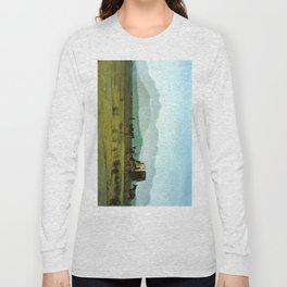 Surveyor's Wagon in the Rockies Long Sleeve T-shirt