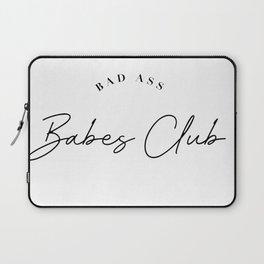 bad ass babes club Laptop Sleeve