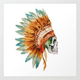 Skull 03 Art Print