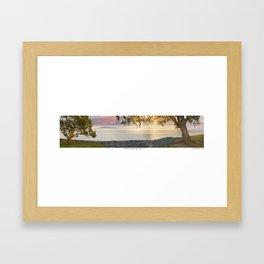 Two Trees Framed Art Print